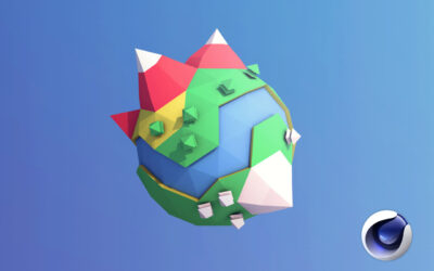 Cinema 4D: Create Low Poly Planet