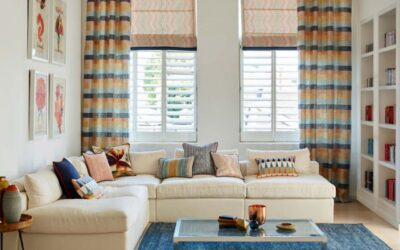 Interior Design Curtain & Blinds